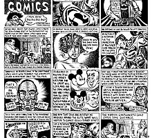 Jews and Comics by Eli Valley