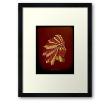 Indian Knight 141WP Framed Print