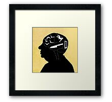 The Master of Suspense Framed Print