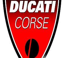 New Ducati Corse Logo Street Wear by boy77