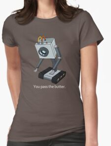 Butter Robot Womens Fitted T-Shirt