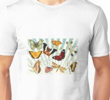 Vintage Butterfly poster Unisex T-Shirt