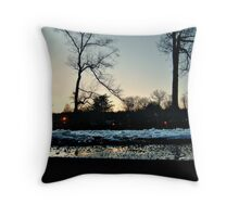 Across The BandStand - Ground Level View Throw Pillow