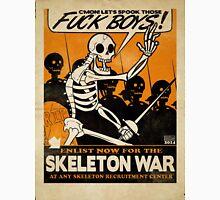 Skeleton War Unisex T-Shirt