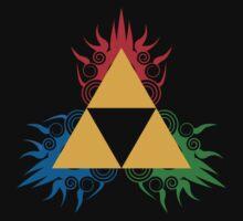 THE LEGEND OF ZELDA:Triforce by Manbalcar