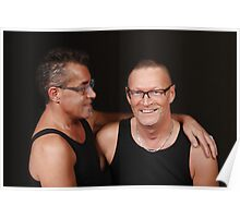 Male couple 1 Poster