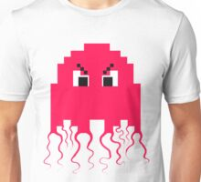 Angry Pacman Ghost Unisex T-Shirt