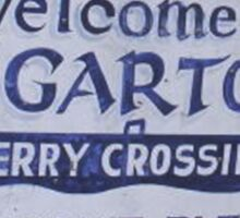 Welcome to Edgar Town Sticker