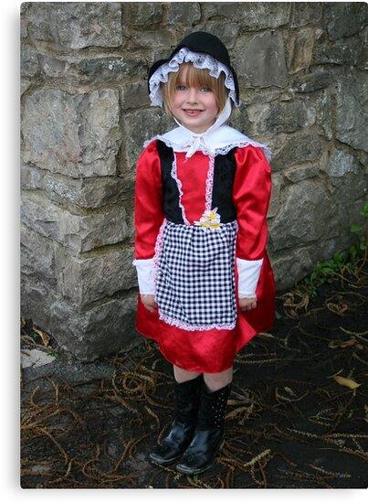 Cute Little Welsh Girl by AnnDixon