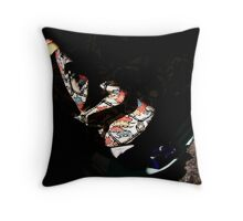 Hide your Kimono Throw Pillow