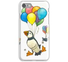 The Puffins Are Getting Carried Away iPhone Case/Skin