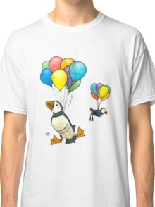 The Puffins Are Getting Carried Away Classic T-Shirt