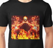 The fires of hell  Unisex T-Shirt