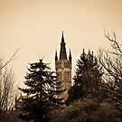 Tower and Trees by Soniris