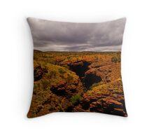 Karijini National Park Gorge  Throw Pillow