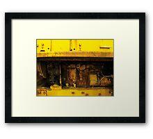 Engine Framed Print