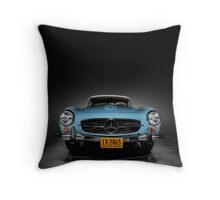 1962 Mercedes Benz 280 SL Throw Pillow