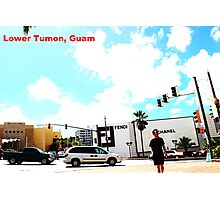 Lower Tumon, Guam postcard Photographic Print