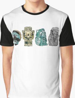 Aztec Gods and Goddesses Graphic T-Shirt