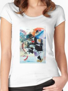 Transcendence ~ Abstract 92 Women's Fitted Scoop T-Shirt