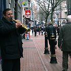Birmingham Busker - clarinetist by thenamesherlock