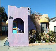 Doorways of Pacific Grove, California—Mauve  Photographic Print