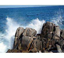 Pacific Grove Splash Photographic Print