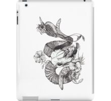 The Ram skull and bird iPad Case/Skin