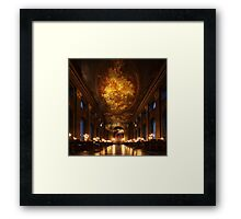 Painted Hall, Old Royal Naval College Framed Print