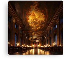 Painted Hall, Old Royal Naval College Canvas Print