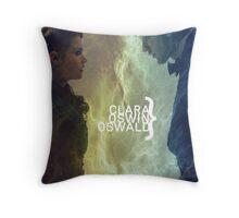 Clara Oswin Oswald Throw Pillow