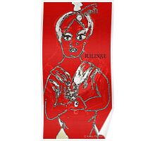 Red Burlesque Poster