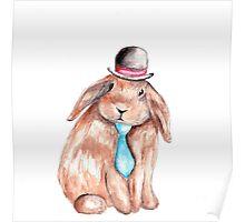 Sir Bunny Poster