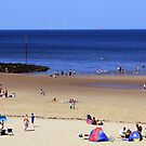 A Day At the Beach. by Tony Parry