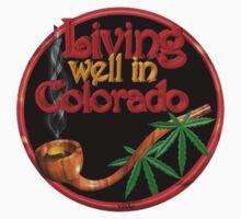 Living well in Colorado w/ cannabis/marijuana  by Valxart