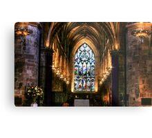 St Giles Cathedral, Edinburgh Metal Print