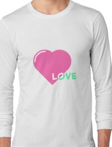 Love Heart TeeShirt Long Sleeve T-Shirt