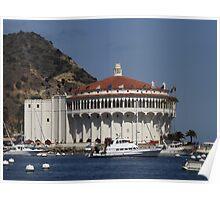 Avalon Harbor, Santa Catalina, California Poster