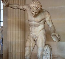 discus thrower sculptor by thvisions