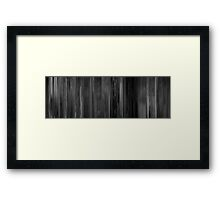 Moviebarcode: Lady in the Lake (1947) Framed Print
