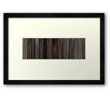 Moviebarcode: MASH (1970) Framed Print