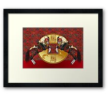 Year Of The Horse Chinese Zodiac Framed Print