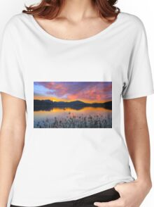 Dusk at Lake Wörthersee Women's Relaxed Fit T-Shirt