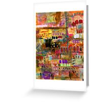Playful Brushstrokes Greeting Card