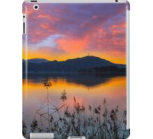 Dusk at Lake Wörthersee iPad Case/Skin