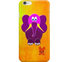 The Elephant & the Mouse iPhone case iPhone Case/Skin
