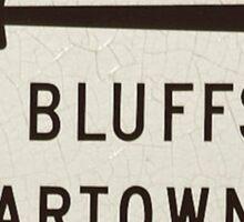 Oak Bluffs Edgartown Road Sign Martha's Vineyard Sticker