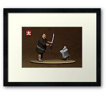 Ghost Dog Samurai Framed Print