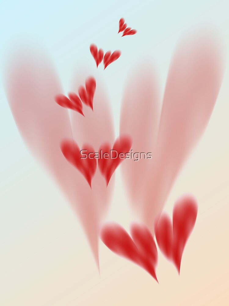 Flying Hearts by ScaleDesigns