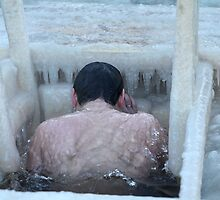 Winter bathing by mrivserg